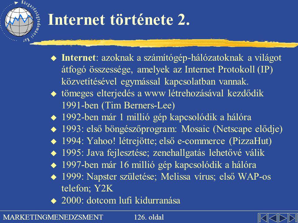 Internet története 2.