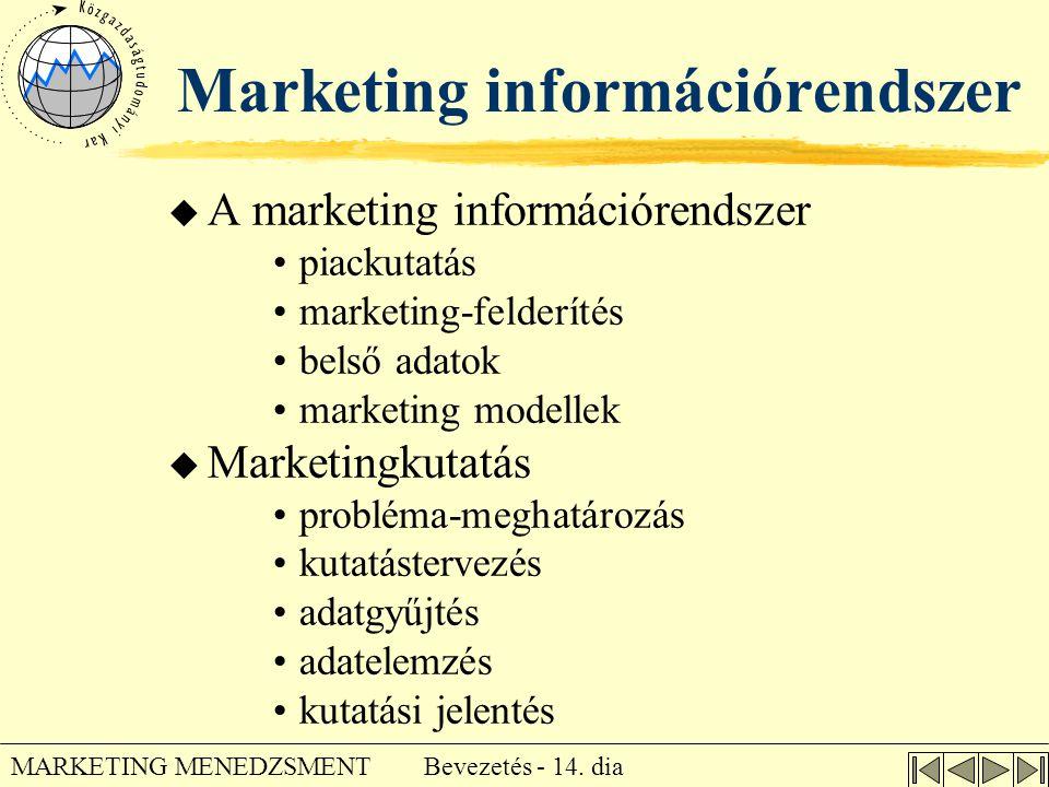Marketing információrendszer