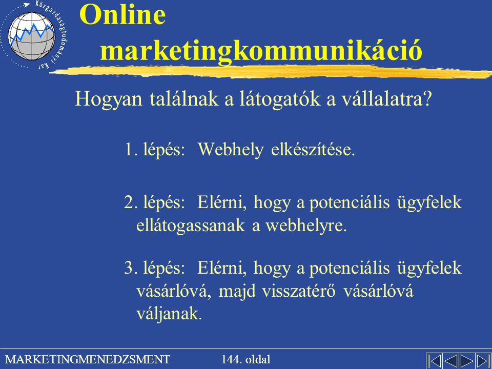 Online marketingkommunikáció