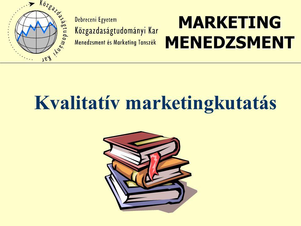 Kvalitatív marketingkutatás