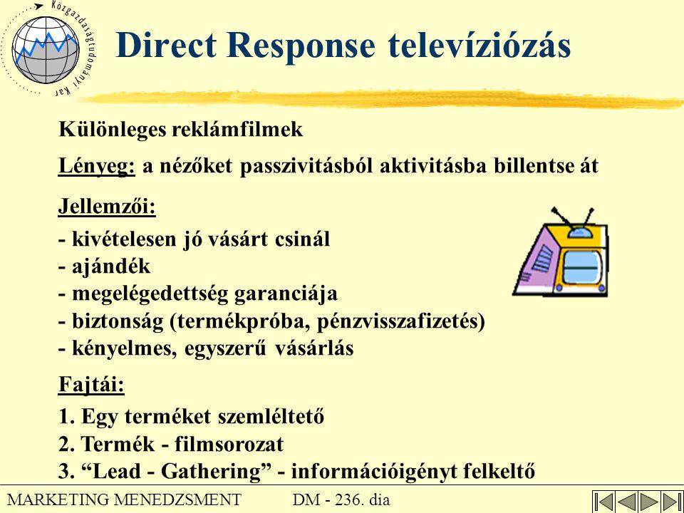 Direct Response televíziózás