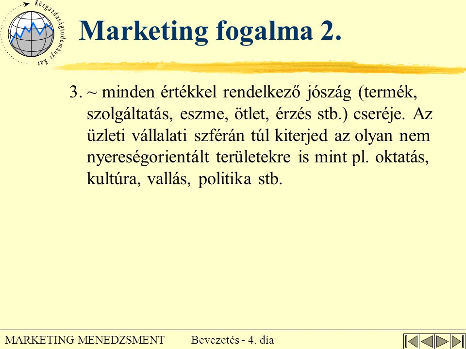 Marketing fogalma 2.