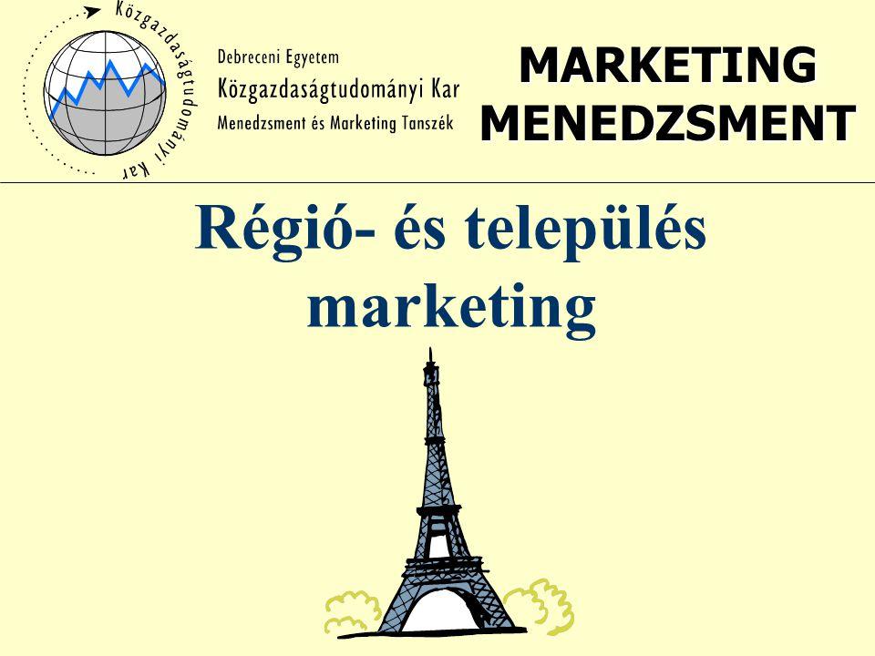 Régió- és település marketing