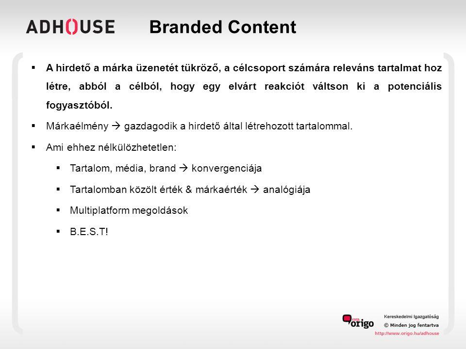 Branded Content – Best gondolkodás