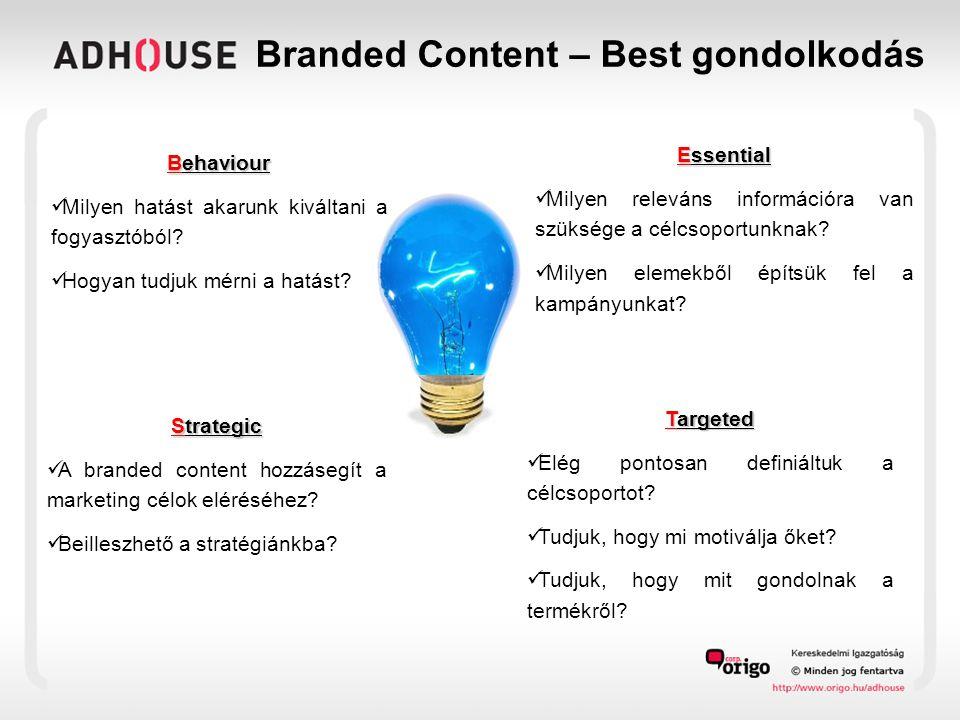 Hagyományos reklám vs.Branded Content