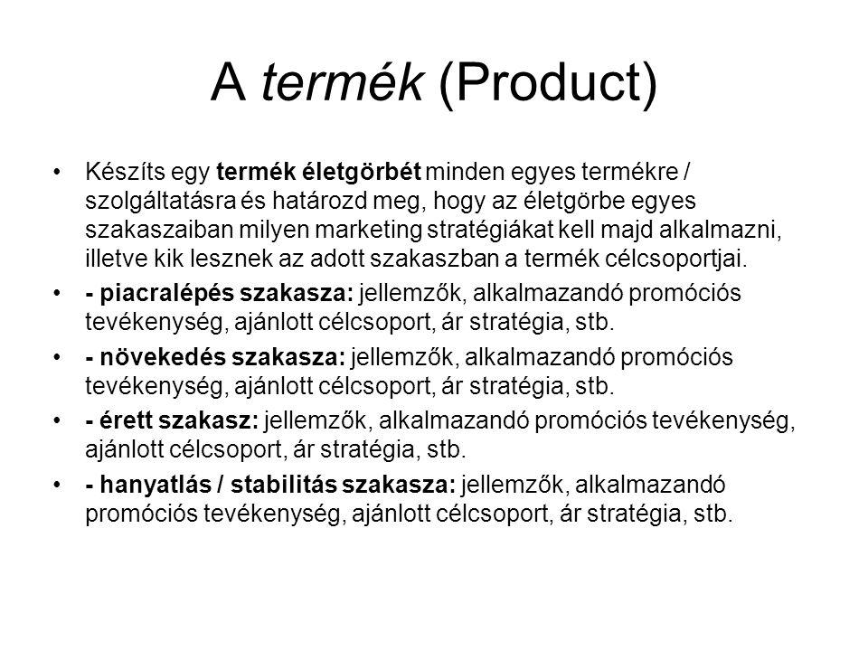 A termék (Product)