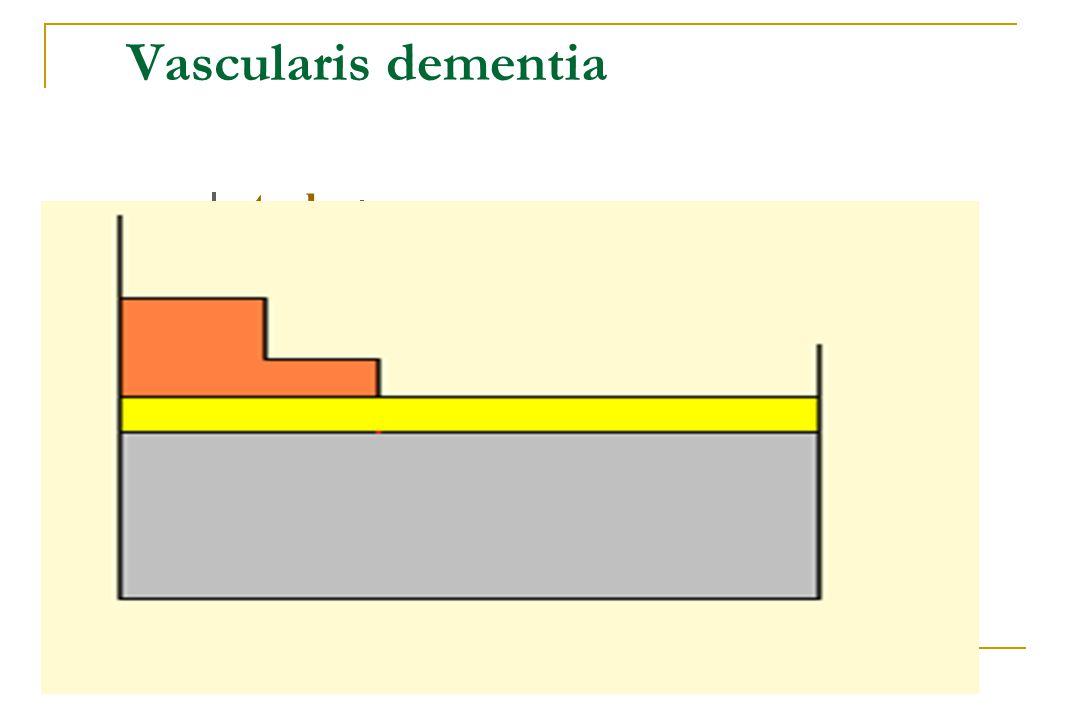 Vascularis dementia stroke _________________ Vascularis cognitiv zavar
