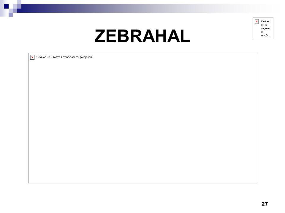 ZEBRAHAL