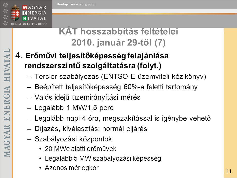 KÁT hosszabbítás feltételei 2010. január 29-től (7)