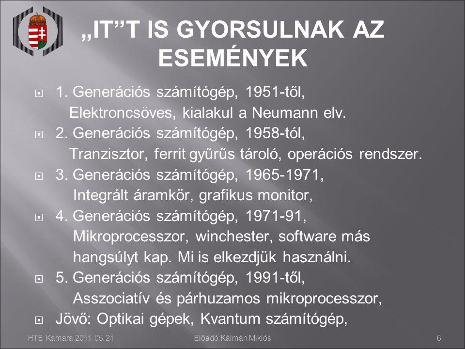 """""""IT T IS GYORSULNAK AZ ESEMÉNYEK"""