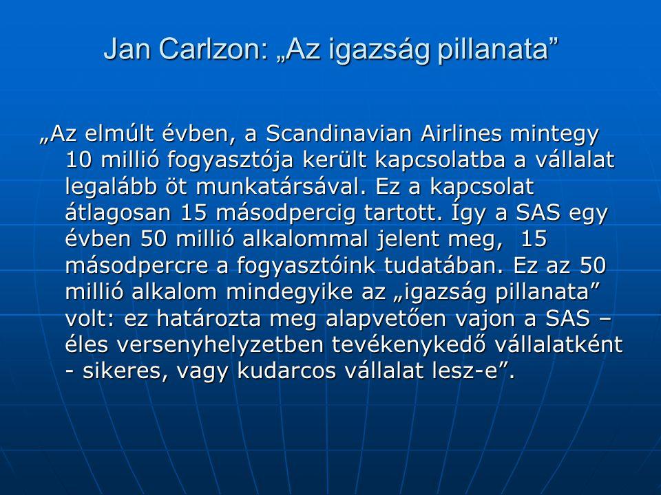 """Jan Carlzon: """"Az igazság pillanata"""
