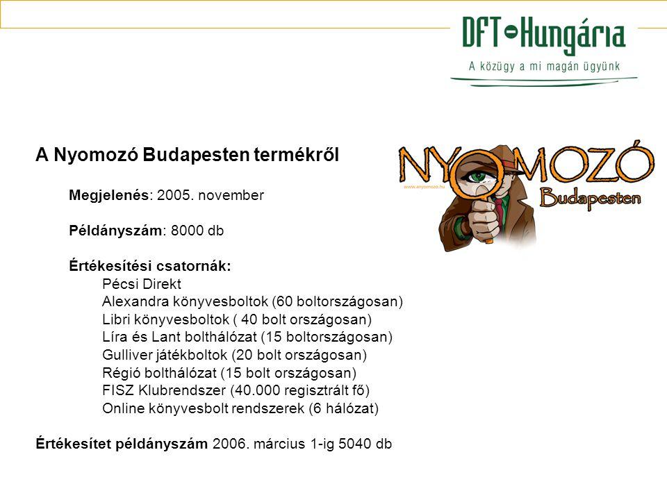 A Nyomozó Budapesten termékről