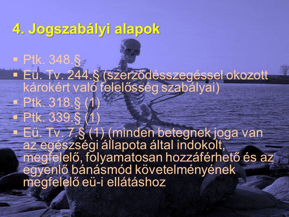 4. Jogszabályi alapok Ptk. 348.§