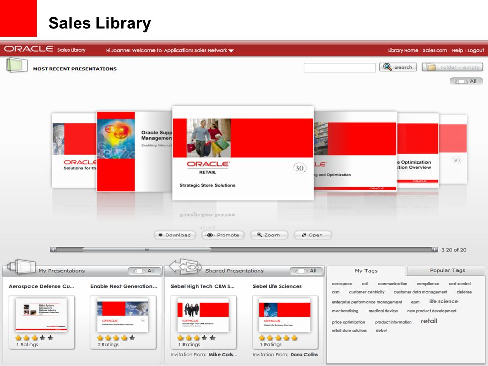 Sales Library