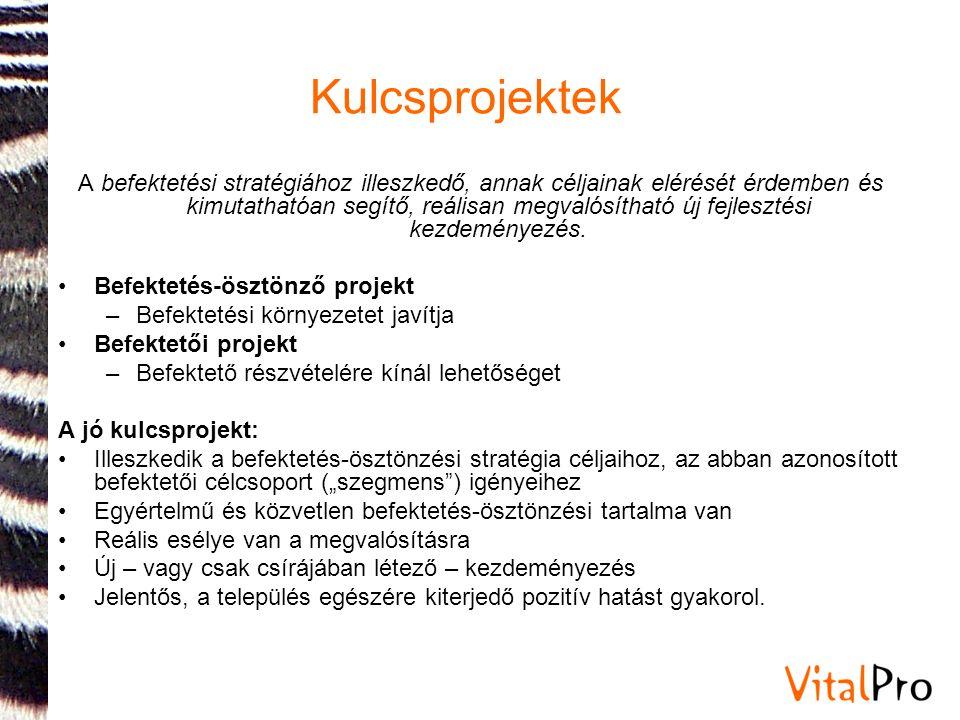 Kulcsprojektek