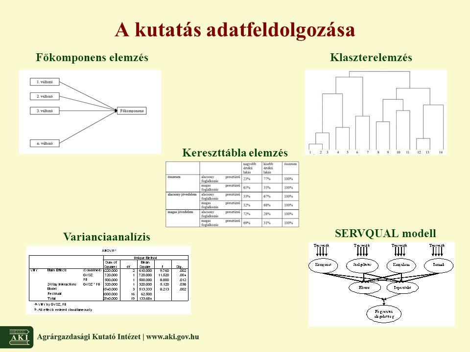 A kutatás adatfeldolgozása