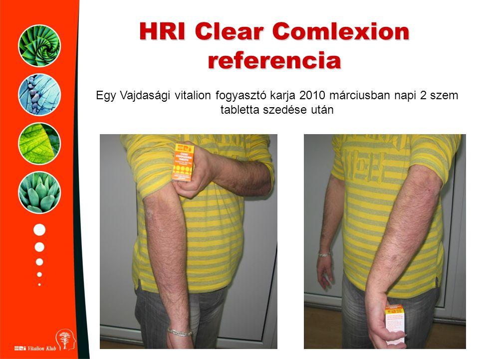 HRI Clear Comlexion referencia