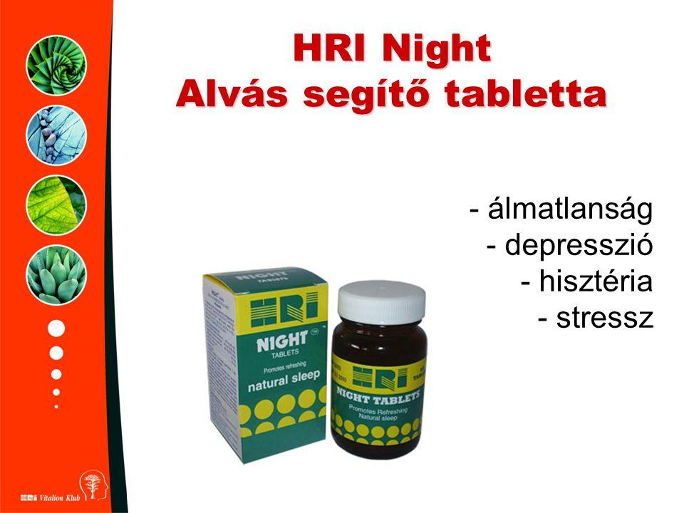 HRI Night Alvás segítő tabletta