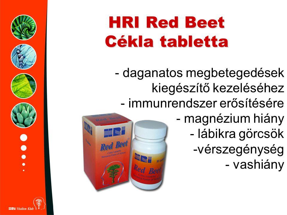 HRI Red Beet Cékla tabletta