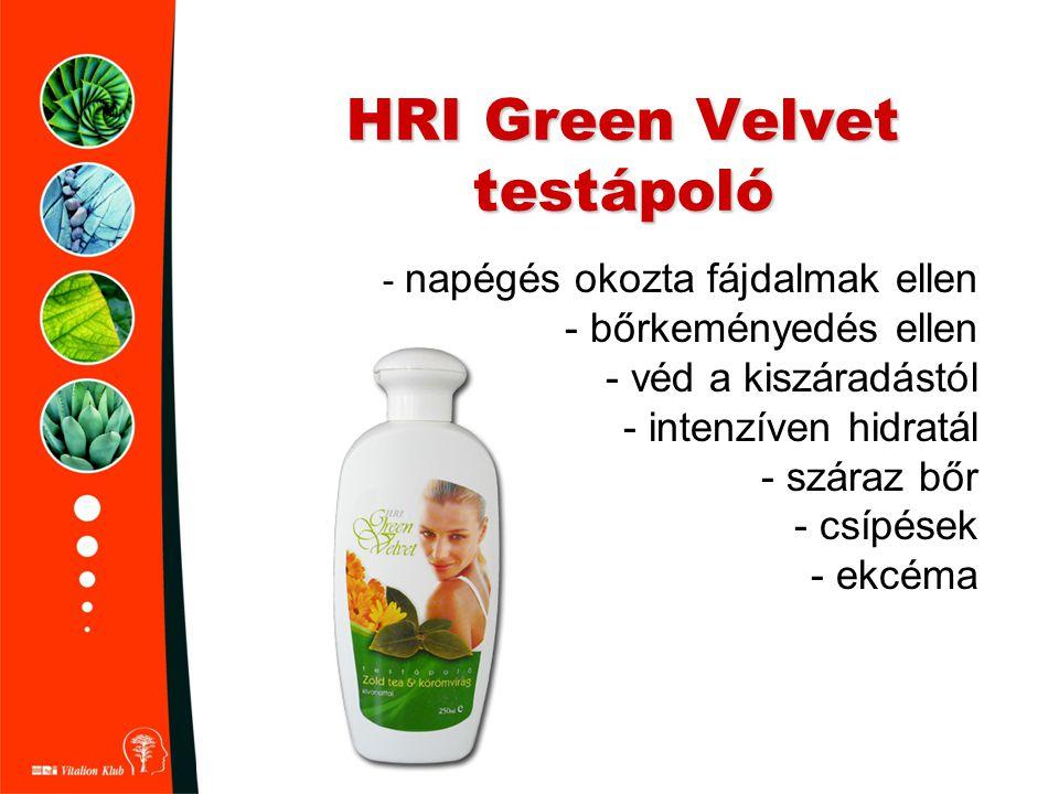 HRI Green Velvet testápoló
