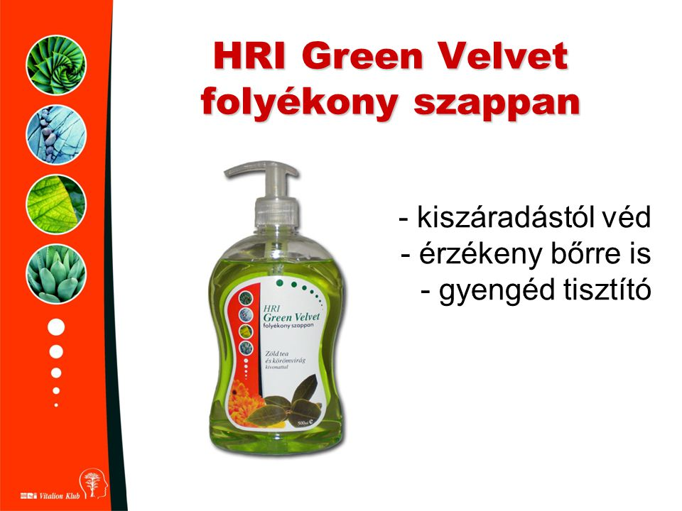 HRI Green Velvet folyékony szappan