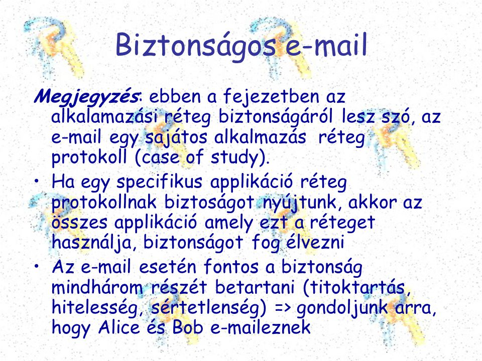 Biztonságos e-mail