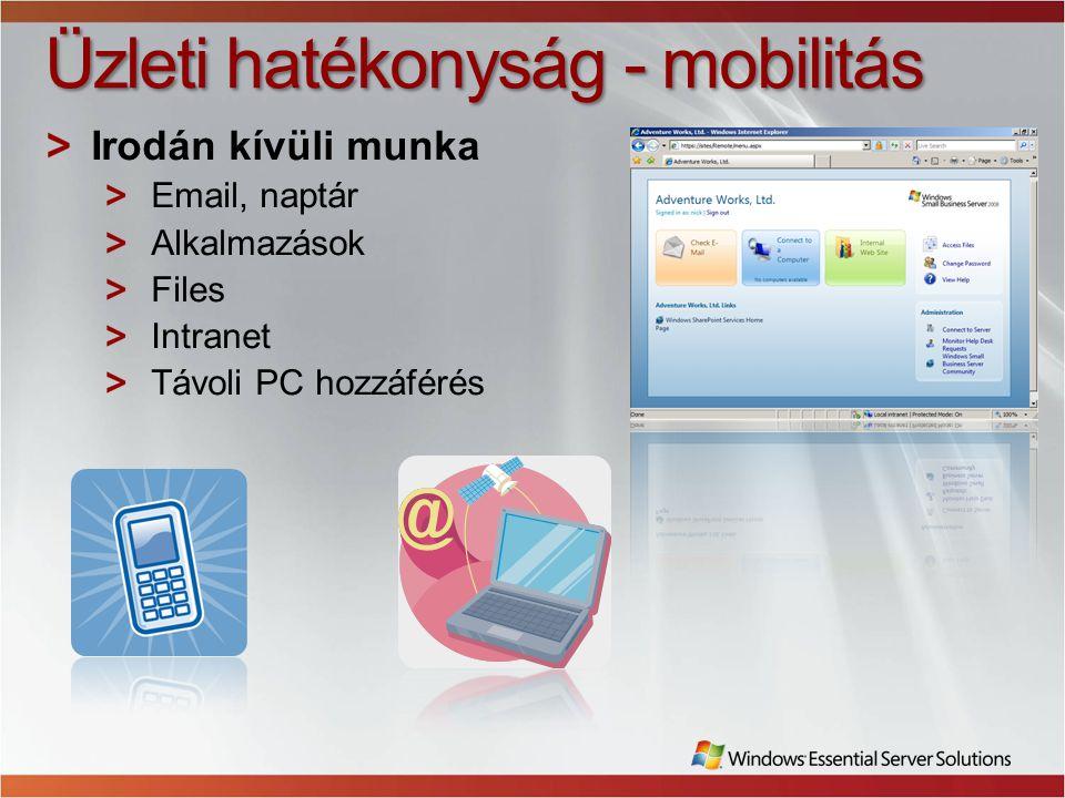 Üzleti hatékonyság - mobilitás