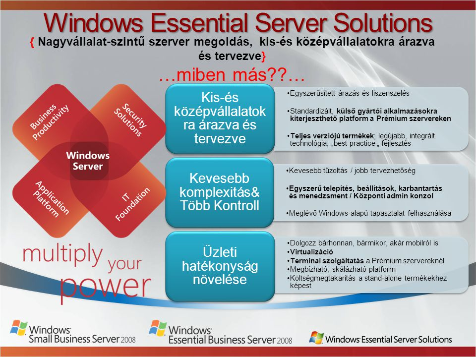 Windows Essential Server Solutions