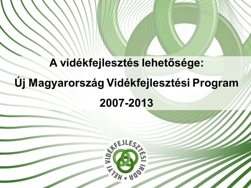 A vidékfejlesztés lehetősége: Új Magyarország Vidékfejlesztési Program