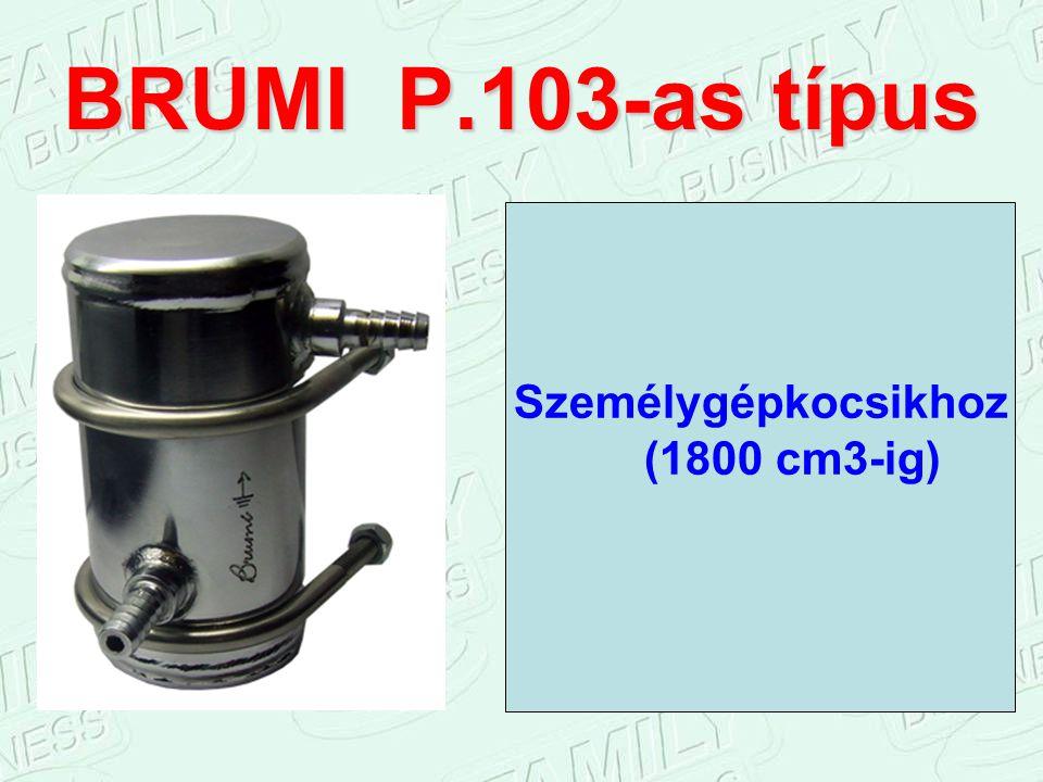BRUMI P.103-as típus Személygépkocsikhoz (1800 cm3-ig)