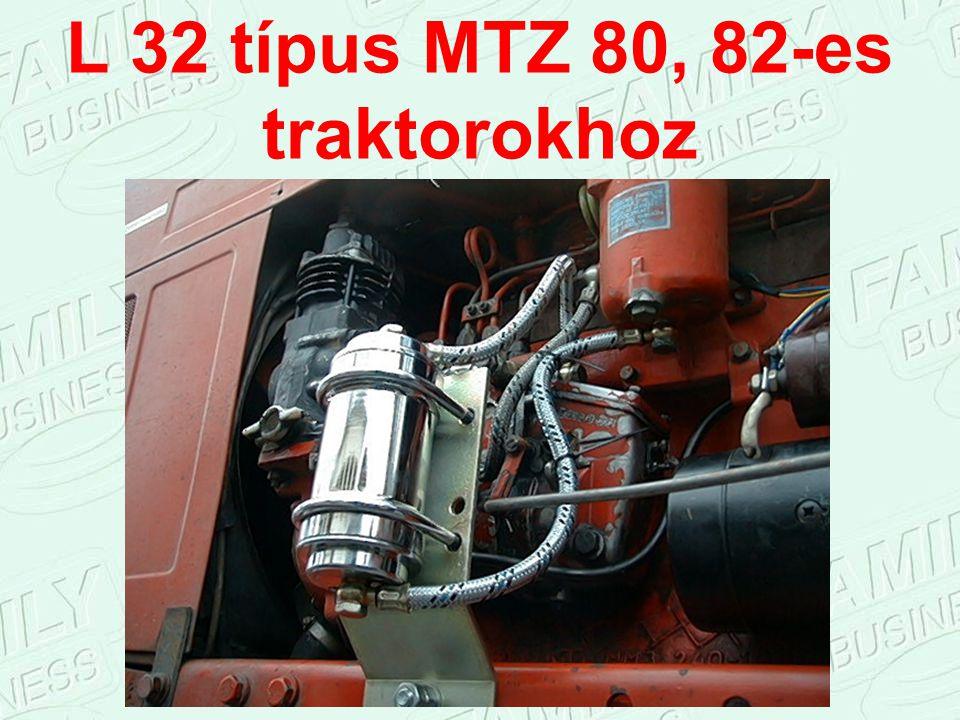 L 32 típus MTZ 80, 82-es traktorokhoz