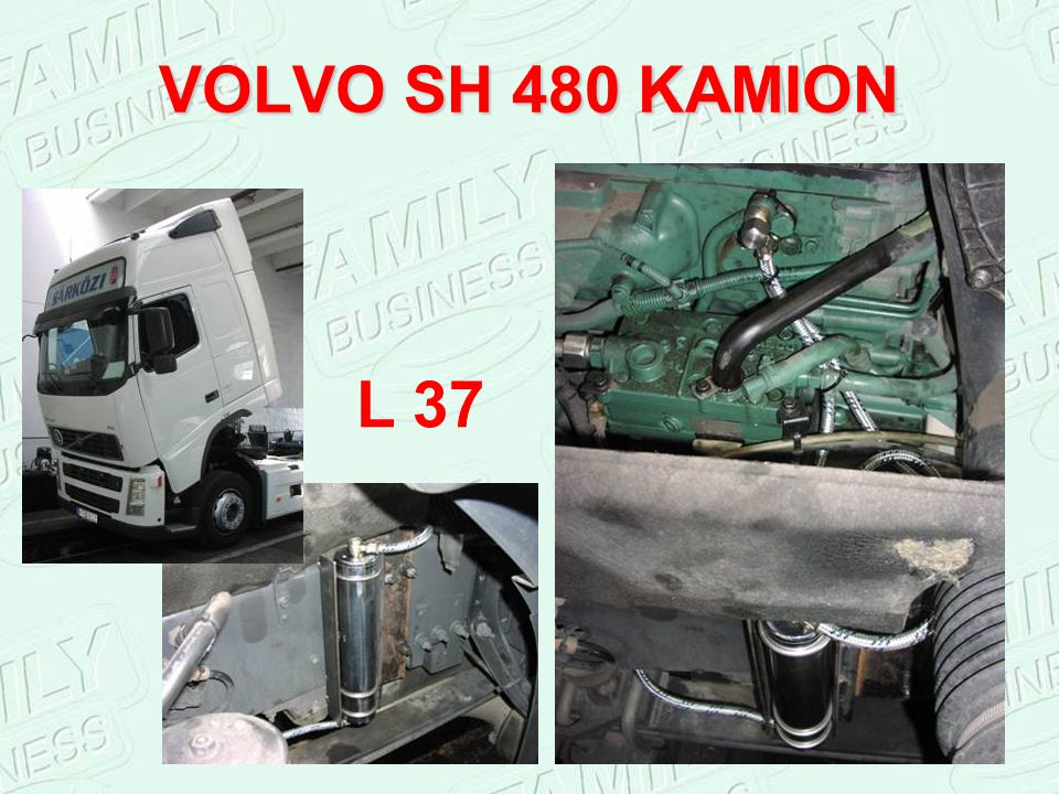 VOLVO SH 480 KAMION L 37