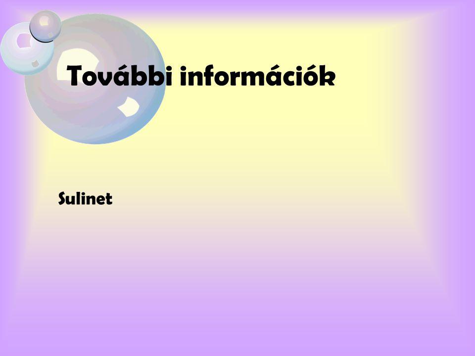 További információk Sulinet