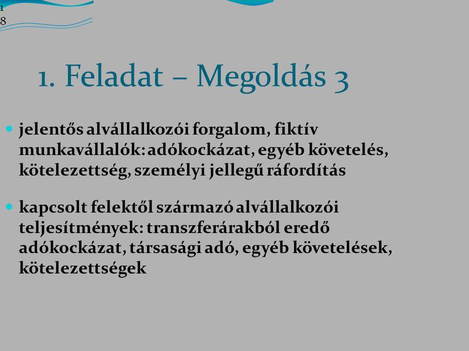 1818 1. Feladat – Megoldás 3.