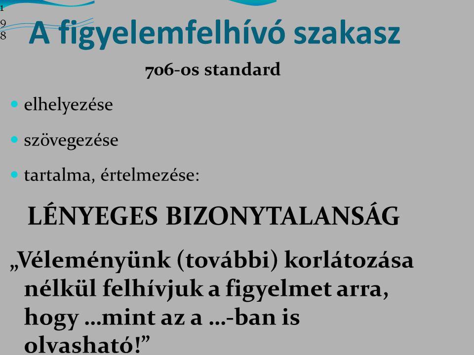 LÉNYEGES BIZONYTALANSÁG