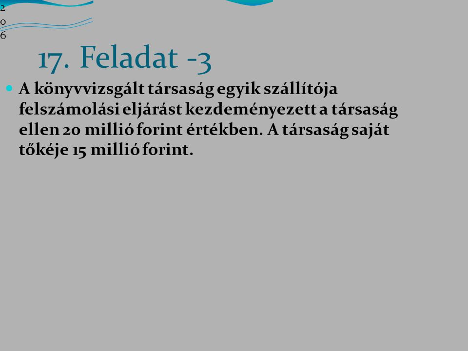 206206206 17. Feladat -3.