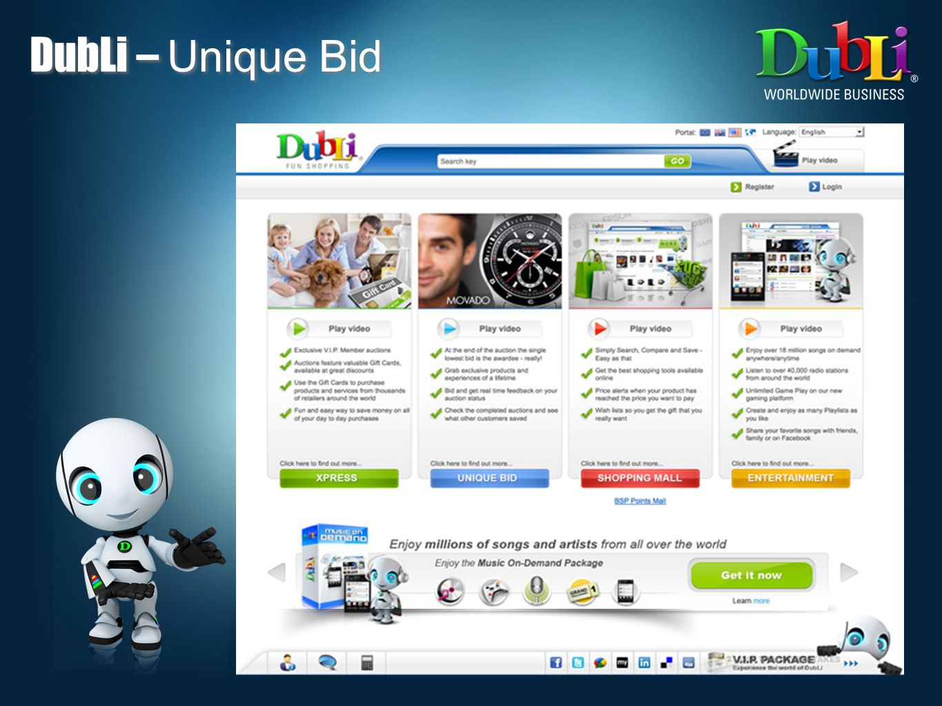DubLi – Unique Bid 15