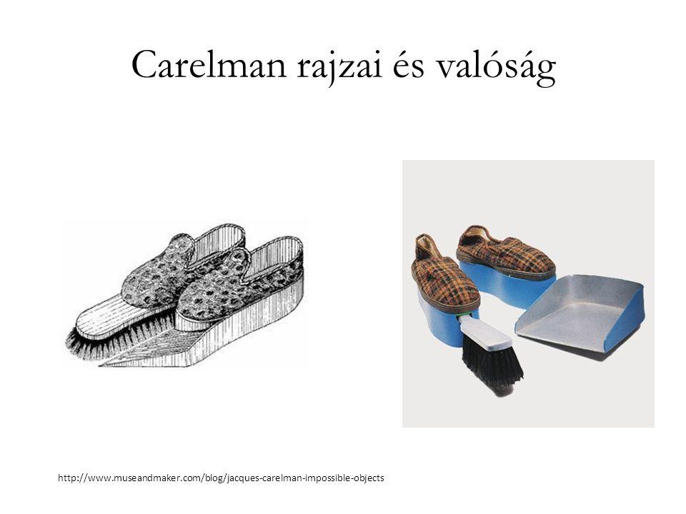 Carelman rajzai és valóság