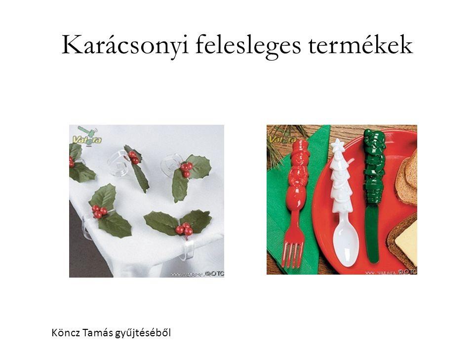 Karácsonyi felesleges termékek
