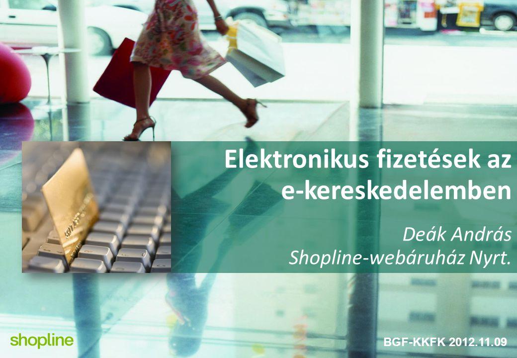 Elektronikus fizetések az e-kereskedelemben