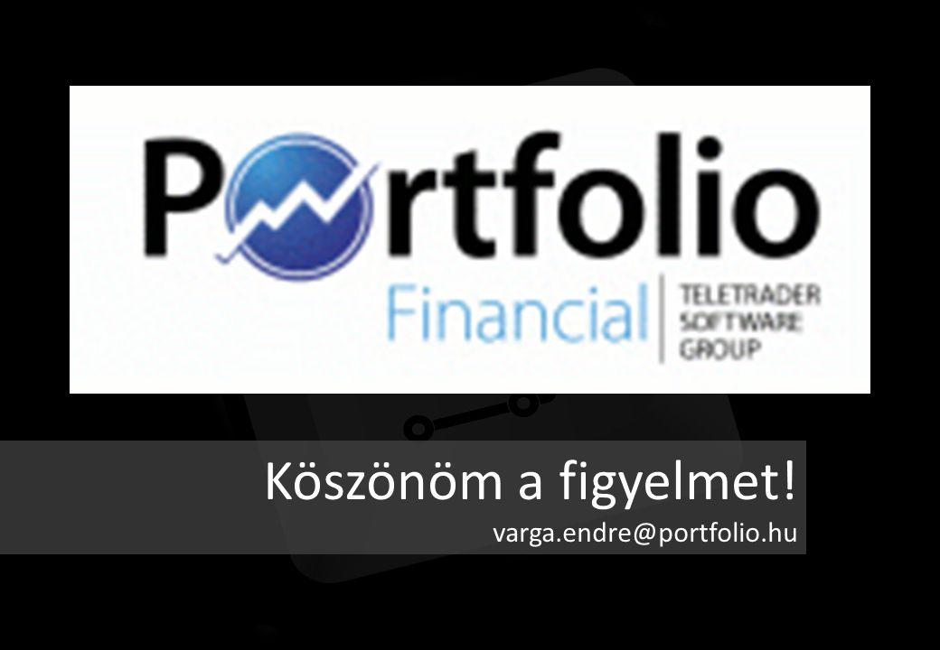Köszönöm a figyelmet! varga.endre@portfolio.hu