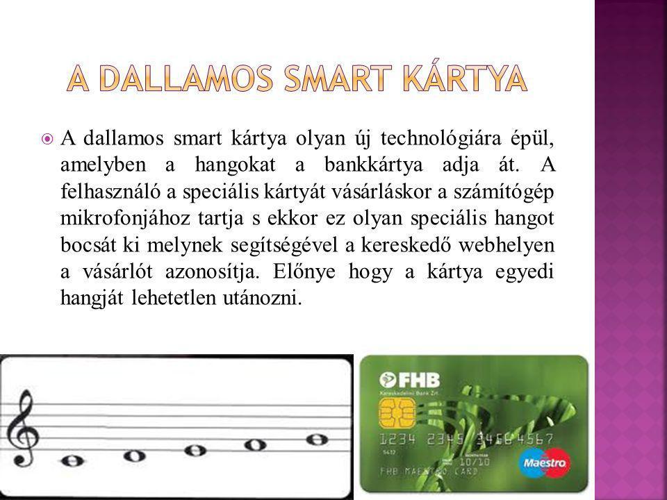 A Dallamos smart kártya