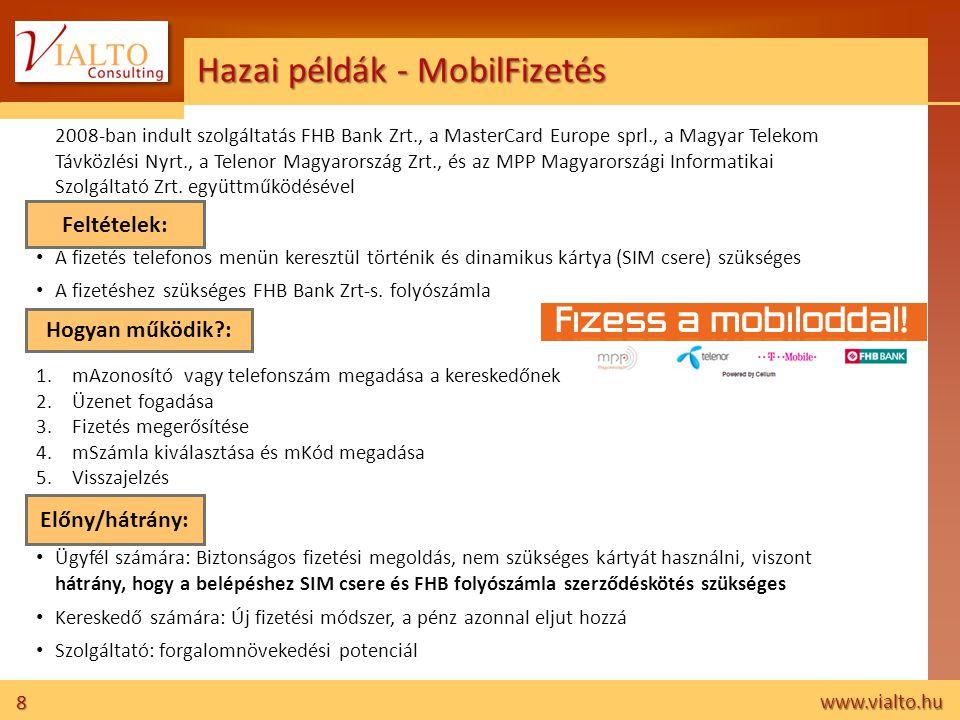Hazai példák - MobilFizetés