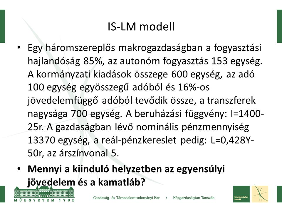 IS-LM modell