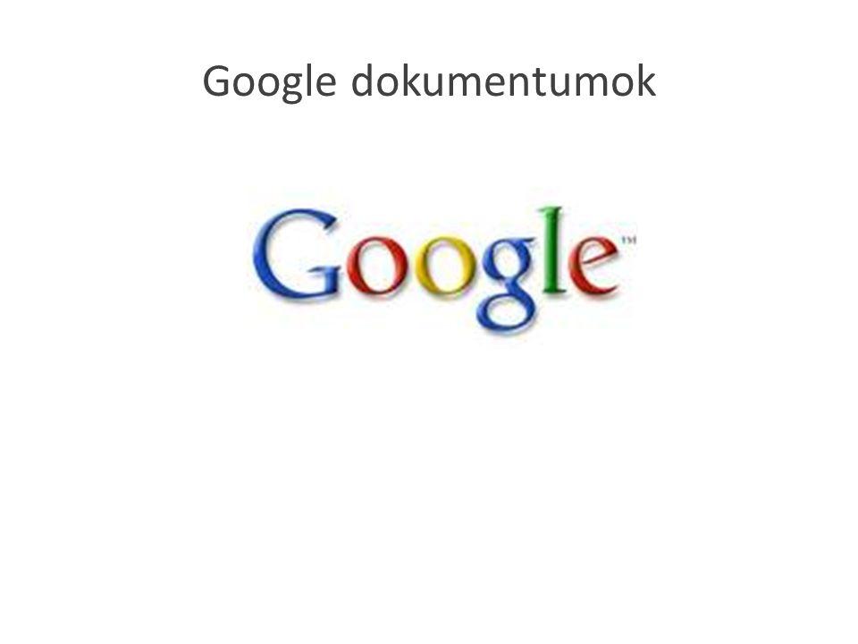 Google dokumentumok