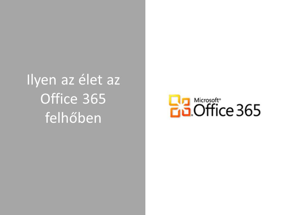 Ilyen az élet az Office 365 felhőben