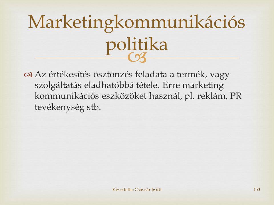Marketingkommunikációs politika