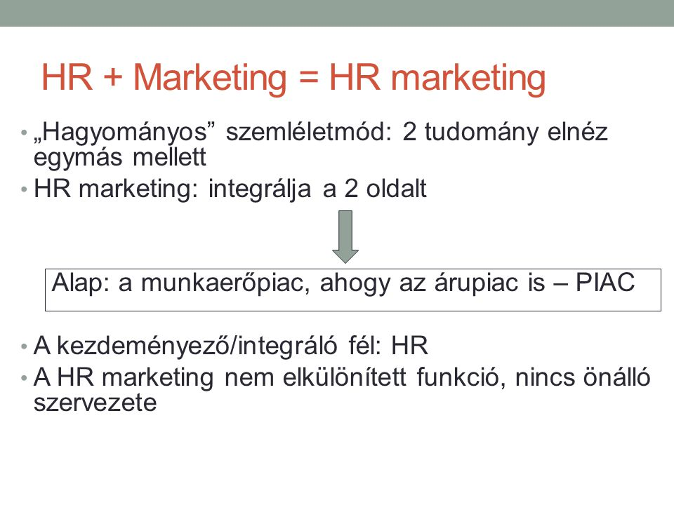 HR + Marketing = HR marketing