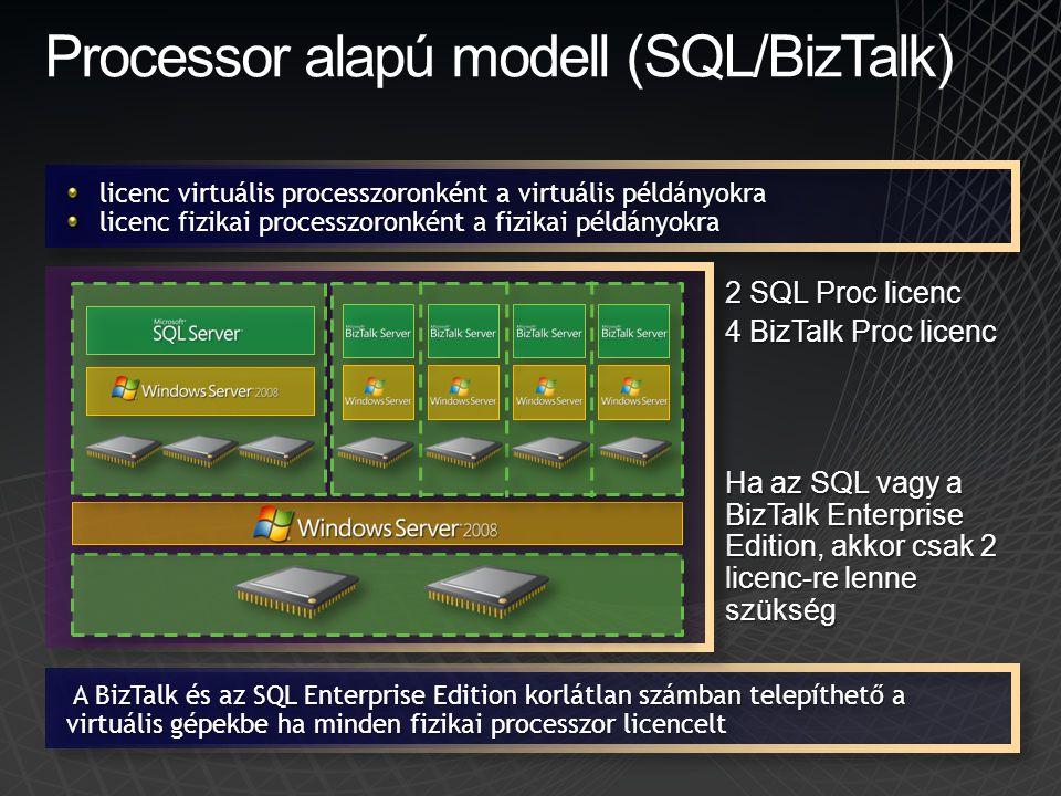 Processor alapú modell (SQL/BizTalk)