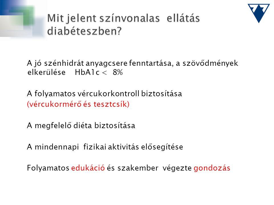 Mit jelent színvonalas ellátás diabéteszben